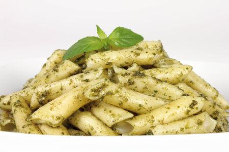 pasta close up Stock Photo