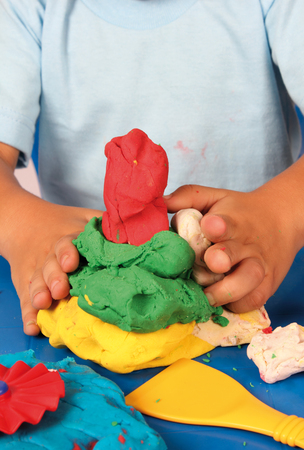 clay modeling: modeling clay