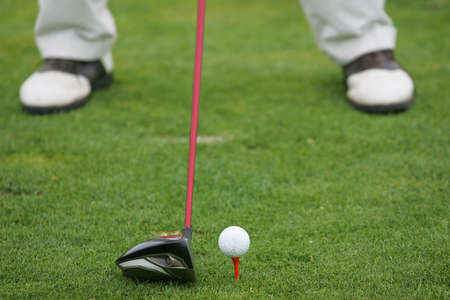 detail of golf course Stock Photo - 7307221