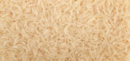 close up view of rice grain photo