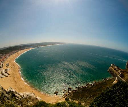 Nazare touristic beach - Portugal - Europe