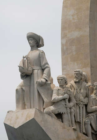 lisbonne: descobrimentos monument in lisbon, portugal