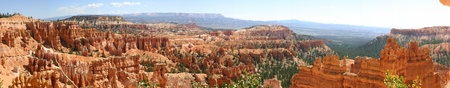 Panoramic View of Bryce Canyon National Park, Utah, USA photo
