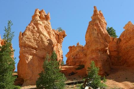 monolith: Hiking Among Monoliths In Bryce Canyon, Utah