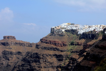 View Of Imerovigli In The Morning - Santorini Island photo