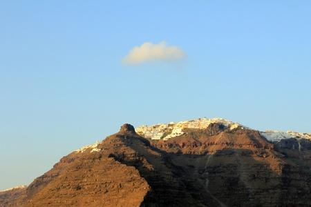 View Of Imerovigli At Sunset - Santorini Island photo