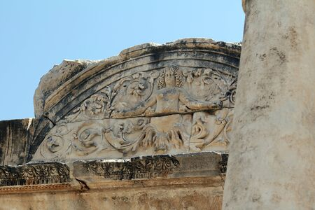 Bas-Relief Con Medusa en Efeso - Turqu�a photo