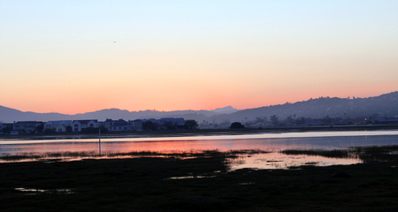 Sunset On Knysna Lagoon photo
