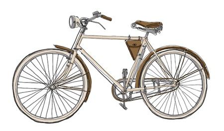 自転車ヴィンテージ
