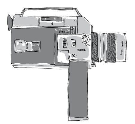 super 8 Camera  film vintage photo