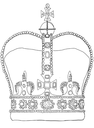 crown b w