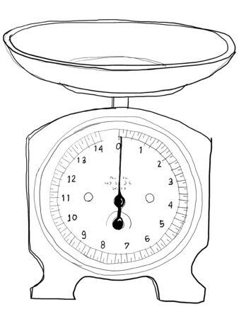 b w: Scales vintage b w