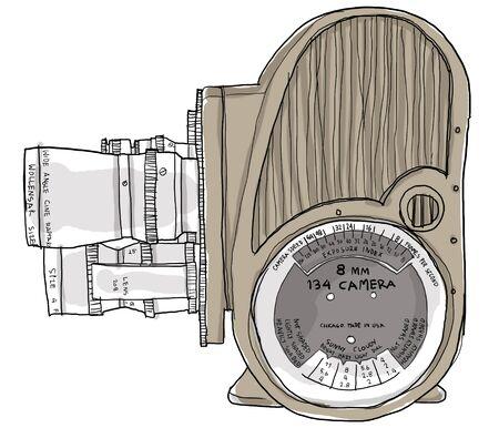 8mm Movie Camera photo