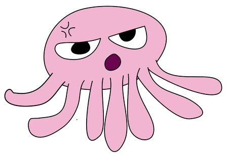Pink Octopus Stock Photo - 15177178
