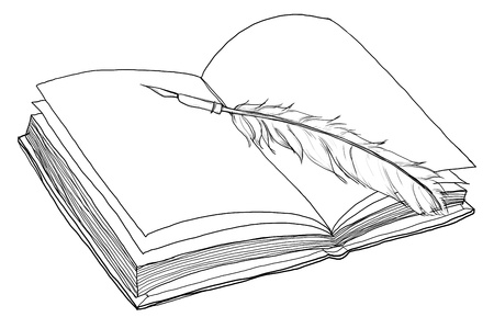 artistry: book and pen