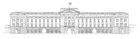 buckingham palace: Buckingham Palace Stock Photo