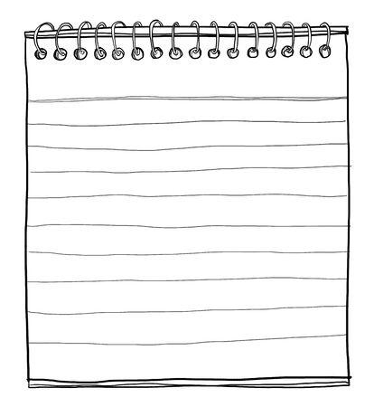 note book art cute lineart photo
