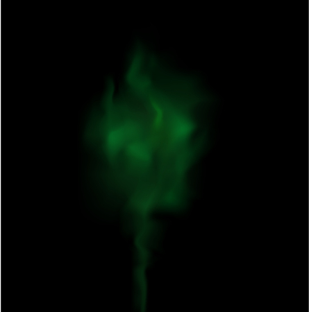 fume: green  Smoke Background Vector  Texture