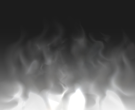 fume: Cloud and smoke  on black backgrounds abstract unusual illustration