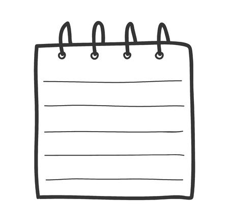 illustrazione vettoriale illustrazione carino illustrazione di disegni a mano disegnata a mano