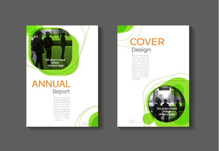 Purple And Yellow Modern Cover Book Brochure Template Design