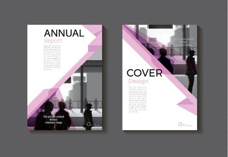 Conception De Couverture Rose Couverture De Livre Moderne Resume Brochure Modele De Couverture Rapport Annuel Magazine Et Flyer Layout Vector A4