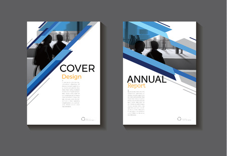 Blue abstract cover design modern book cover abstract Brochure cover  template,annual report, magazine and flyer layout.