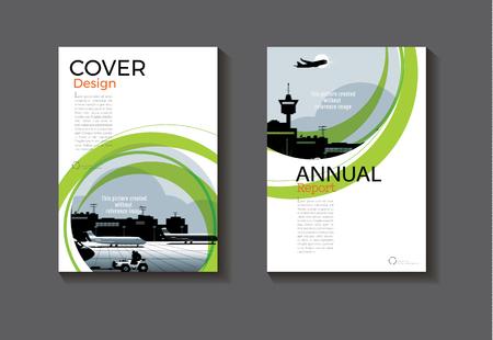 Blaue Abstrakte Cover Design Moderne Buchcover Abstrakte Broschüre ...
