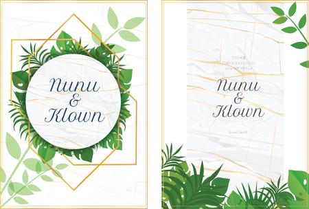 wedding card cover marble vector illustration design background  イラスト・ベクター素材