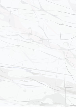 White Marble background vector art texture illustration