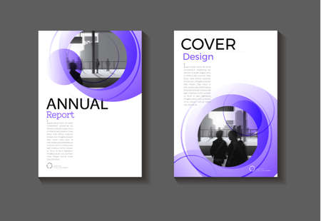 cover Purple abstract background modern design modern book cover Brochure cover  template,annual report, magazine and flyer layout Vector a4 矢量图像