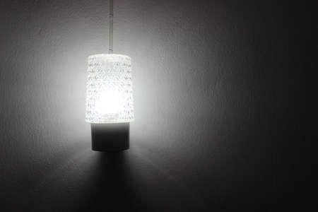 lamp light: Lamp light in the room
