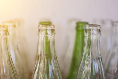 Bottle of sparkling water bottle