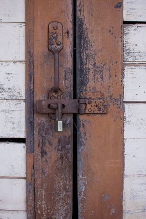locked: The door was locked with key