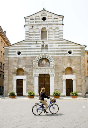Kerk van San Giusto in Lucca Stockfoto - 413711