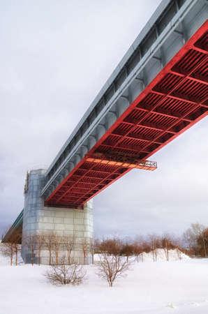 subway bridge