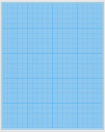 Sheet of plotting paper. Background