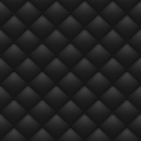 Quilted monochrome background. Seamless pattern. Vector eps 10
