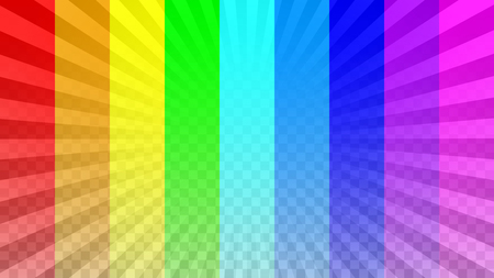 Bright rays overlay