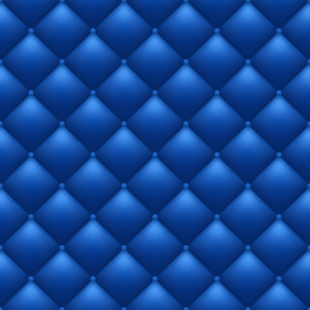 Quilted blue background. Seamless royal pattern. Vector, eps 10.  イラスト・ベクター素材