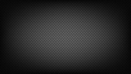 Breitbildhintergrund aus Kohlefaser. Technologischer und wissenschaftlicher Hintergrund.