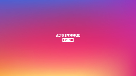 Abstract blurred gradient mesh background. Colorful smooth banner template. Vector, eps10. 矢量图像