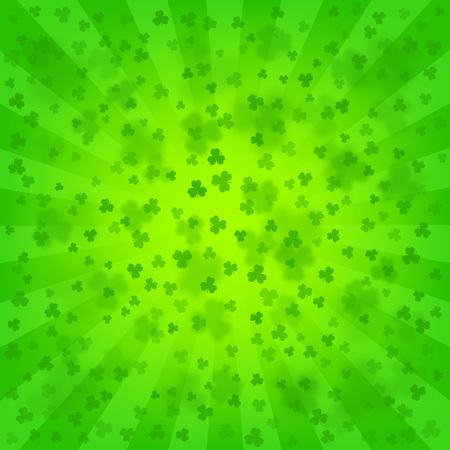 St. Patricks Day bright background