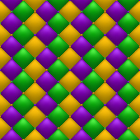 Bright quilted background