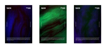 Modern abstract posters collection