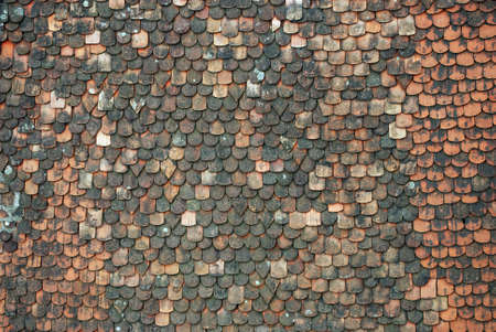 arhitecture: old tiles