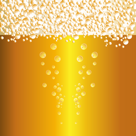 condensation on glass: Water drops on beer background
