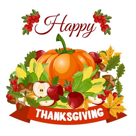 celebration: Happy Thanksgiving celebration design