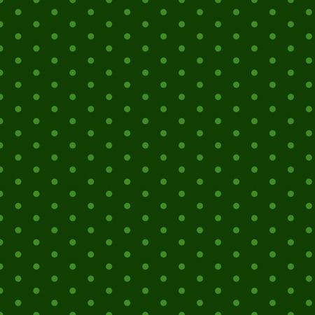Green dots seamless set pattern vector illustration.