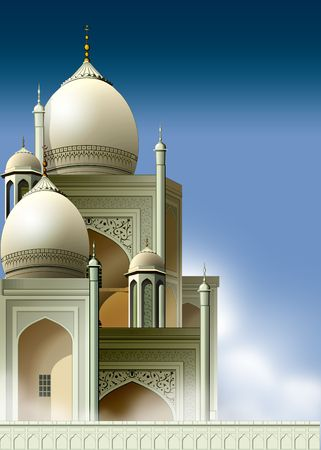 Arabian Mosque Stock Photo - 1744935